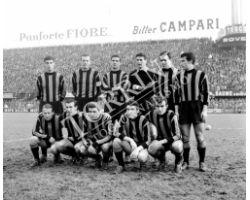 Fiorentina Inter squadra 60 61 calcio sport