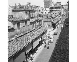 1957  8115 foto storiche  ponte vecchio
