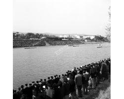 1958 05004 1958 Canottieri in Arno Lungarno del Tempio