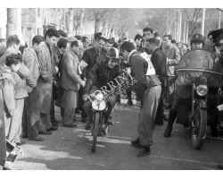 1954  01563 corsa moto motociclismo
