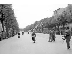 moto giro nel viale Lavagnini