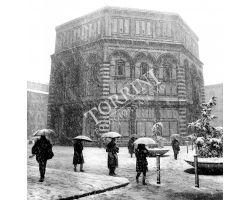 1987 Neve a Firenze  Battistero