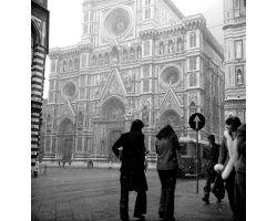 Neve in piazza del Duomo