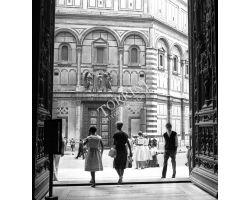 1959 Foto storiche Firenze Battistero