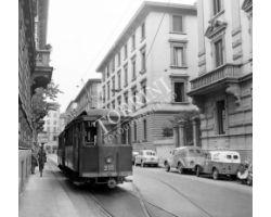 foto storiche Firenze   tram n. 17  via la marmora