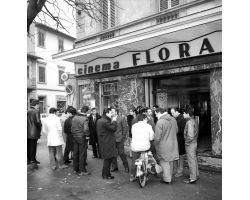 Foto storiche Firenze  Cinema Flora