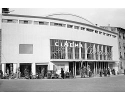 1955  01920 Foto storiche Firenze Cinema Adriano