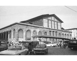 Foto storiche Firenze Mercato centrale San Lorenzo