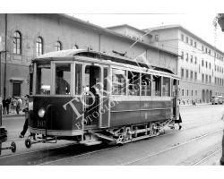 Foto storiche Firenze  tram  alla stazione