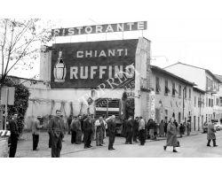 Foto storiche Firenze  Galluzzo ristorante chianti ruffino vino
