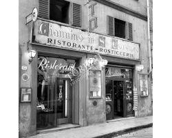 Foto storiche Firenze Ristorante Giannino