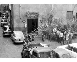 Foto storiche Firenze1969   trattoria  fiaschetteria  zona via toscanella