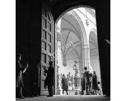 Foto storiche Firenze  Cortile Michelozzo Palazzo Vecchio Loggia dei Lanzi