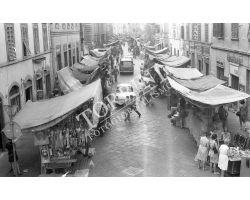 Foto storiche Firenze Mercato San Lorenzo via Ariento