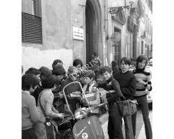 Foto storiche Firenze  studenti scuola media Leon Battisti Alberti