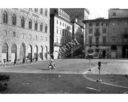 Foto storiche Firenze   piazza Signoria