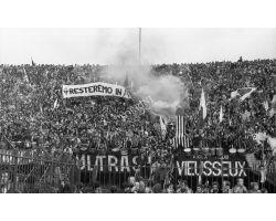 Foto storiche Firenze  Fiorentina Juventus 77 78