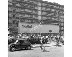 1976 - 9453 corsa ciclismo premio Branzi Superal Stand fiat 500a