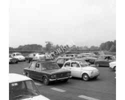 1976 10248  casello autostrada fiat 500 124