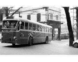 Foto storiche Firenze  deposito ATAF nel viale dei Mille 1 autobus