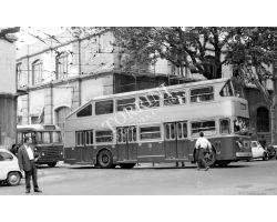 Foto storiche Firenze  deposito ATAF nel viale dei Mille 4 autobus