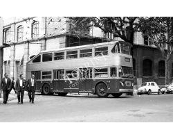 Foto storiche Firenze  deposito ATAF nel viale dei Mille autobus