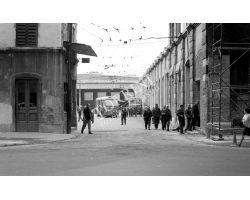Foto storiche Firenze   deposito ATAF nel viale dei Mille