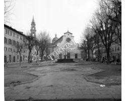 Foto storiche Firenze  piazza santo spirito
