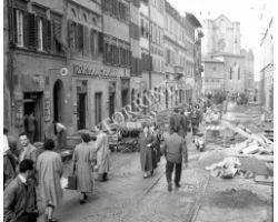 Foto storiche Firenze  via Panzani  ristorante sabatini