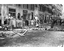 Foto storiche Firenze   via panzani