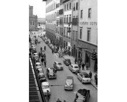 Foto storiche Firenze  via panzani cerretani