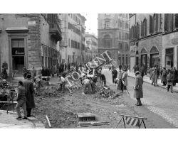 Foto storiche Firenze  piazza san pier maggiore via panzani