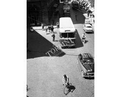 Foto storiche Firenze via panzani autobus ATAF