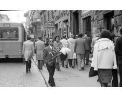Foto storiche Firenze   via cerretani fermata ataf