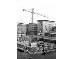 1963 07032 palazzo delle poste via pietrapiana in cantiere
