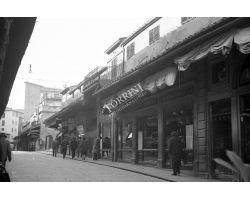 Foto storiche Firenze   Ponte Vecchio negozio Attilio Cappelli