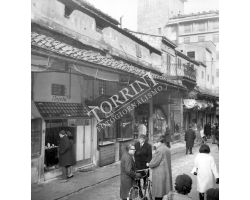 Foto storiche Firenze negozio gioielleria Rajola Ponte Vecchio