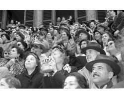 Foto storiche Firenze   scoppio del carro