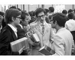 Foto storiche Firenze  Studenti Liceo Michelangelo