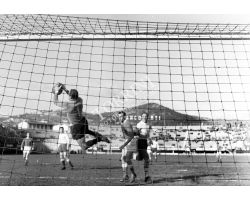 Foto storiche campionato calcio 53 54 Fiorentina Novara