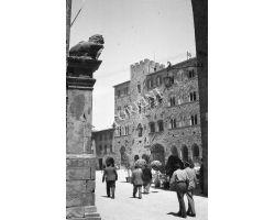 Foto storiche Toscana 1954  04321 Volterra