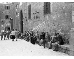 Foto storiche Toscana 1954  04326 Volterra