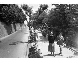 Foto storiche Toscana 1954  04328  Volterra