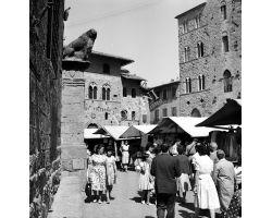 Foto storiche Toscana 1960 08344 Volterra