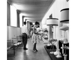Foto storiche Toscana 1960 08347 Volterra mostra alabastro