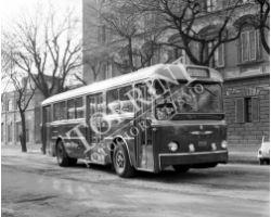 1961 00510 Firenze  Ataf nuovo autobus a 3 porte