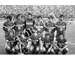 Fiorentina Napoli 83 84 squadra Passarella Pin Galli Massaro  Bertoni Monelli iachini Antognoni Oriali Contratto Pecci