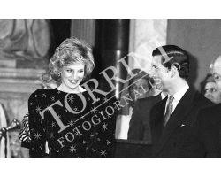 Carlo e Diana d\'Inghilterra a Firenze