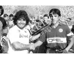 85 86 Fiorentina Napoli Maradona Passarella