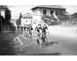 Gara ciclistica in via Senese San Gaggio
